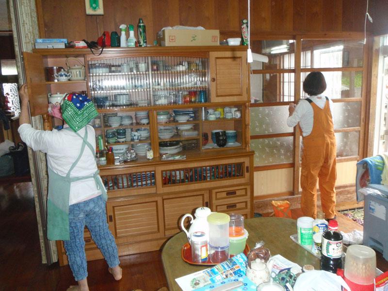 独居老人家庭清掃