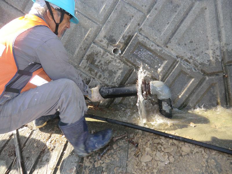 水道管の修繕